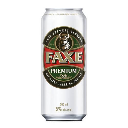 Faxe Premium Lager 5% 500ml