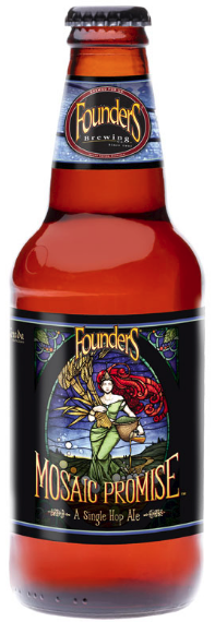 Founders Mosaic Promise 355ml IPA Val 07/12/2018