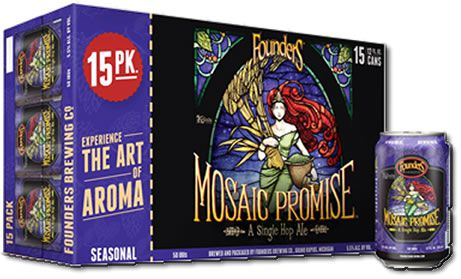 Founders Mosaic Promise IPA 15 Pack (15 Latas 355ml)