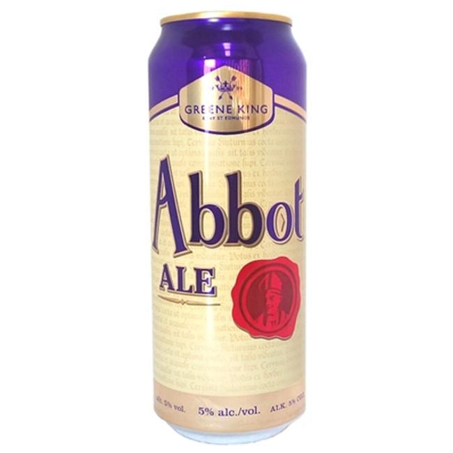 GK Abbot Ale Lata 500ml Bitter (validade 31/01/2019)