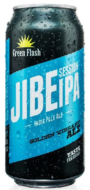 Green Flash Jibe Session Lata 355ml Session IPA