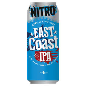 Greene King East Coast IPA Nitro Lata 440ml