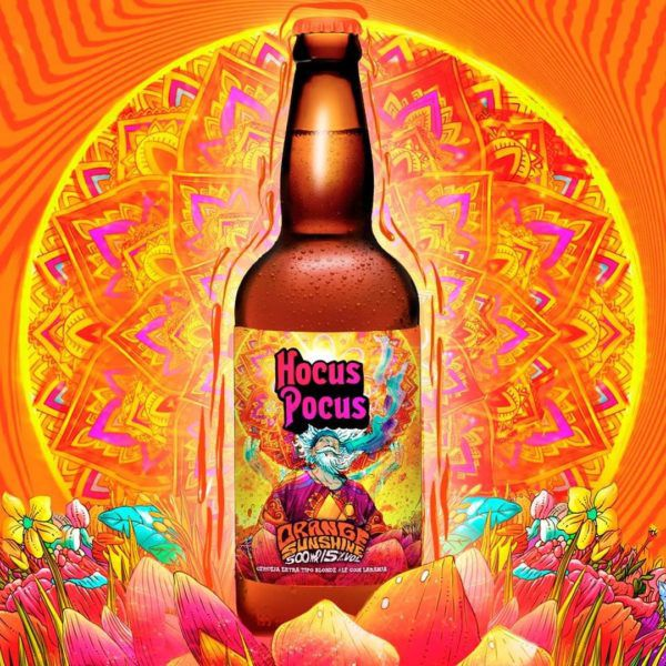 Hocus Pocus Orange Sunshine Blonde ale  500ml