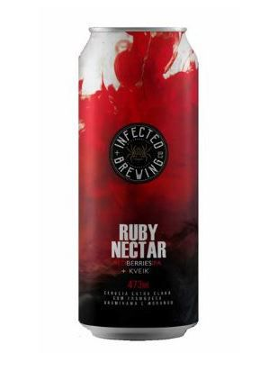Infected Brewing Ruby Nectar Kviek NE Lata 473ml