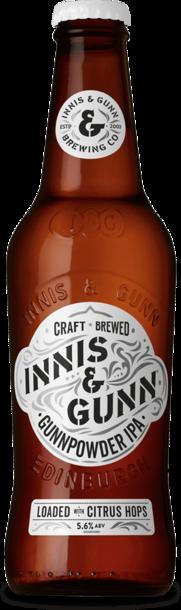 Innis & Gunn Gunnpowder 330ml  IPA  ( Validade Novembro 2018)