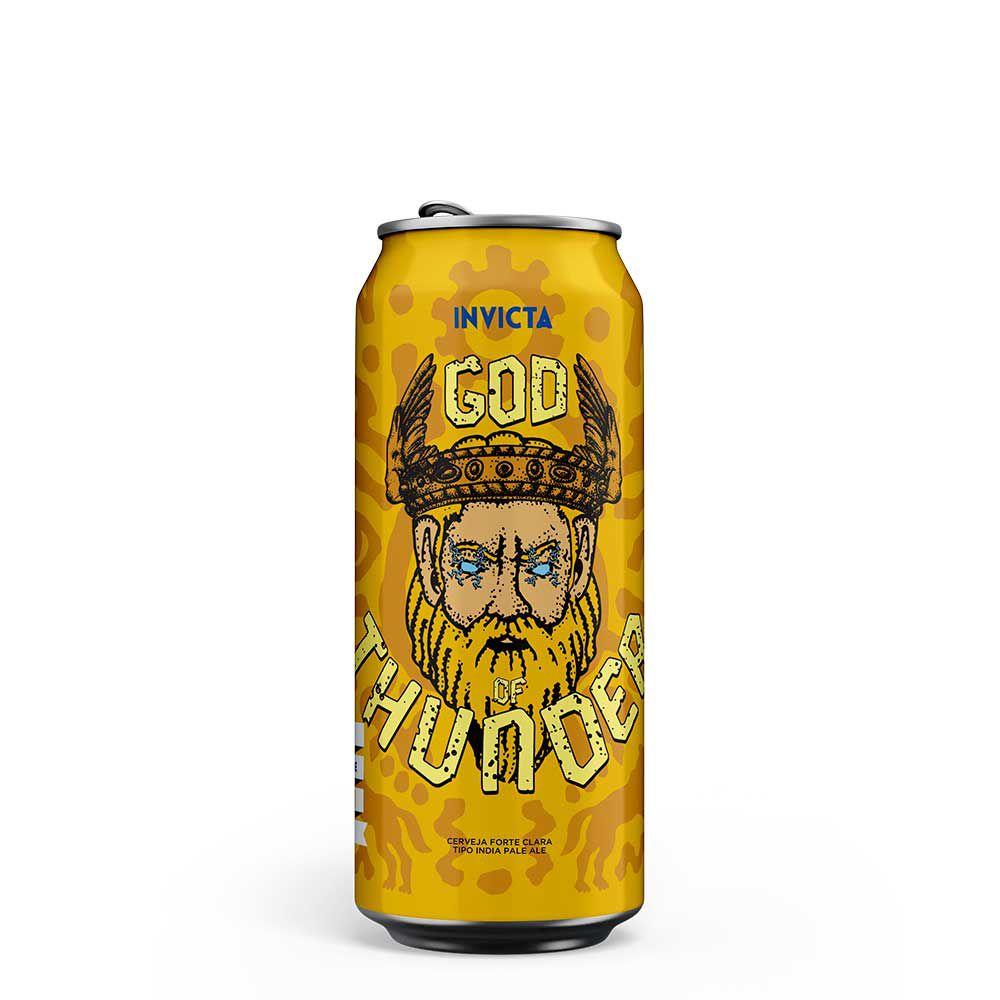 Invicta God Of Thunder IPA Lata 473ml