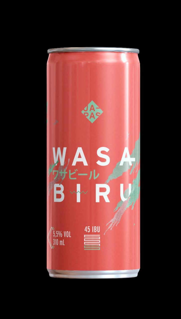 Japas Wasabiru Lata 310ml APA com Wasabi