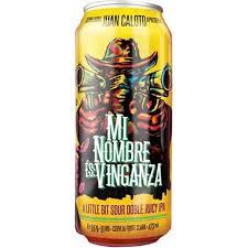 Juan Caloto Mi Nombre És Vinganza Sour Double Juicy Ipa Lata 473ml
