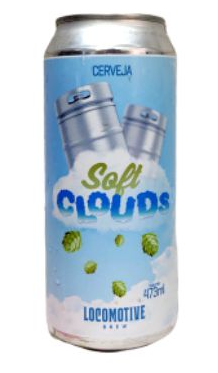 Locomotive Brew Soft Clouds Lata 473ml Ne ipa