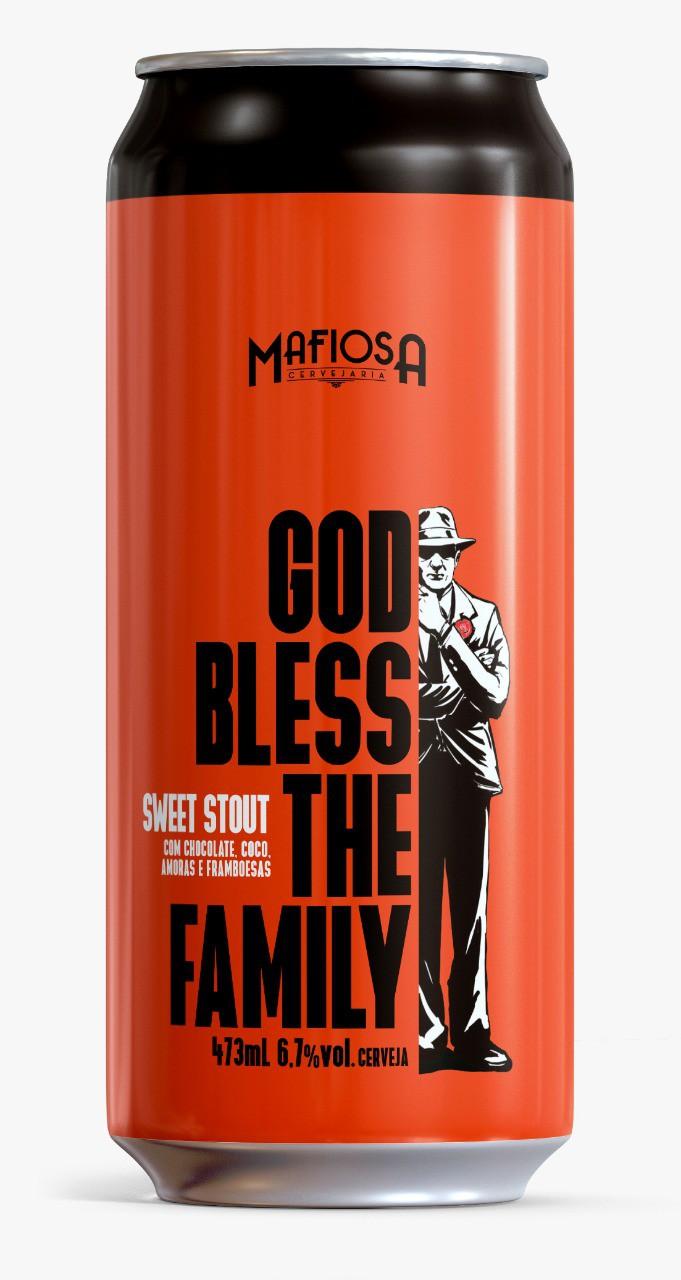 Mafiosa God Bless The Family 473ml Sweet Stout