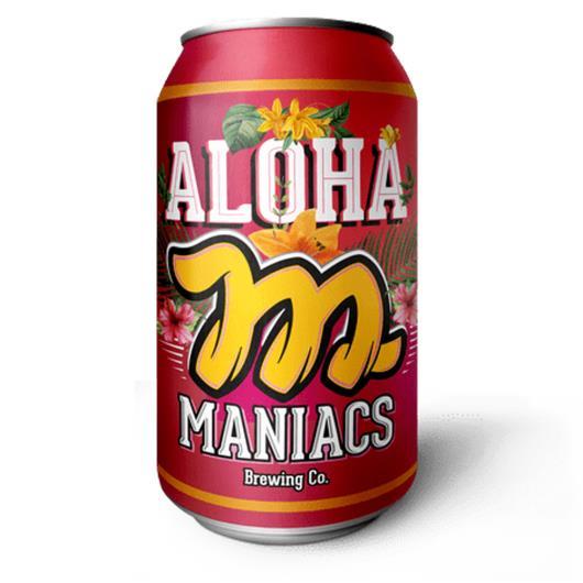 Maniacs Aloha American Pale Ale Lata 350ml