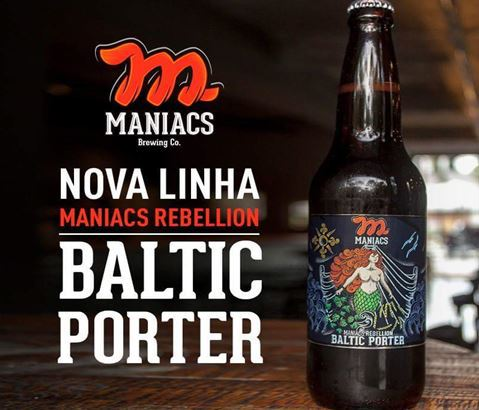 Maniacs Rebellion Baltic Porter 600ml