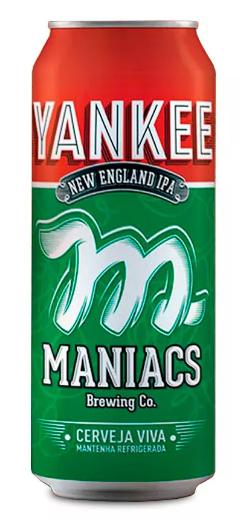 Maniacs Yankee Lata 473ml NE IPA