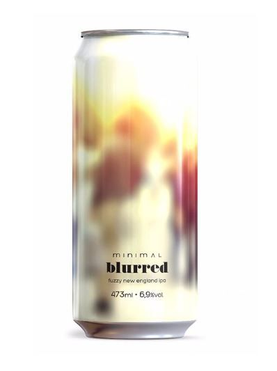 Minimal Blurred New England IPA Lata 473ml