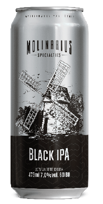 Molinarius Black IPA Lata 473ml