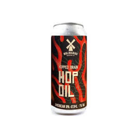 Molinarius Hopped Brain Hop Oil IPA Lata 473ml