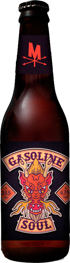 Morada Cia Etílica Gasoline Soul 355ml Scotch Ale