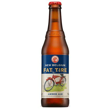 New Belgium Fat Tires 355ml Amber Ale