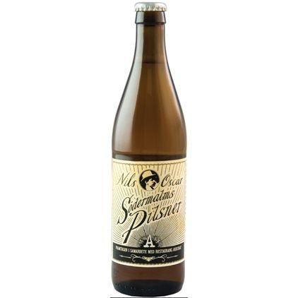 Nils Oscar Sodermalms Pilsner 500ml