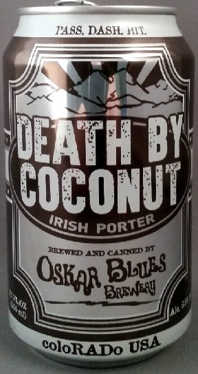 Oskar Blues Death by Coconut 355ml Porter