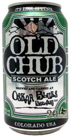 Oskar Blues Old Chub 355ml Scotch Ale (validade 04/01/2019)