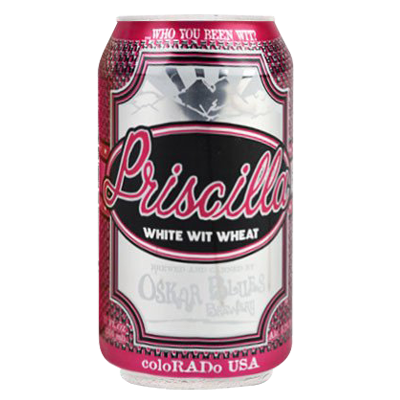 Oskar Blues Priscilla 355ml Witbier