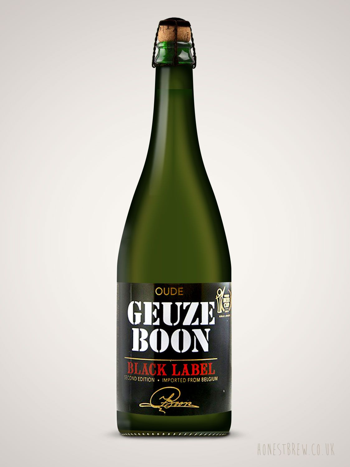 Oude Geuze Boon Black Label Second Editon 750ml