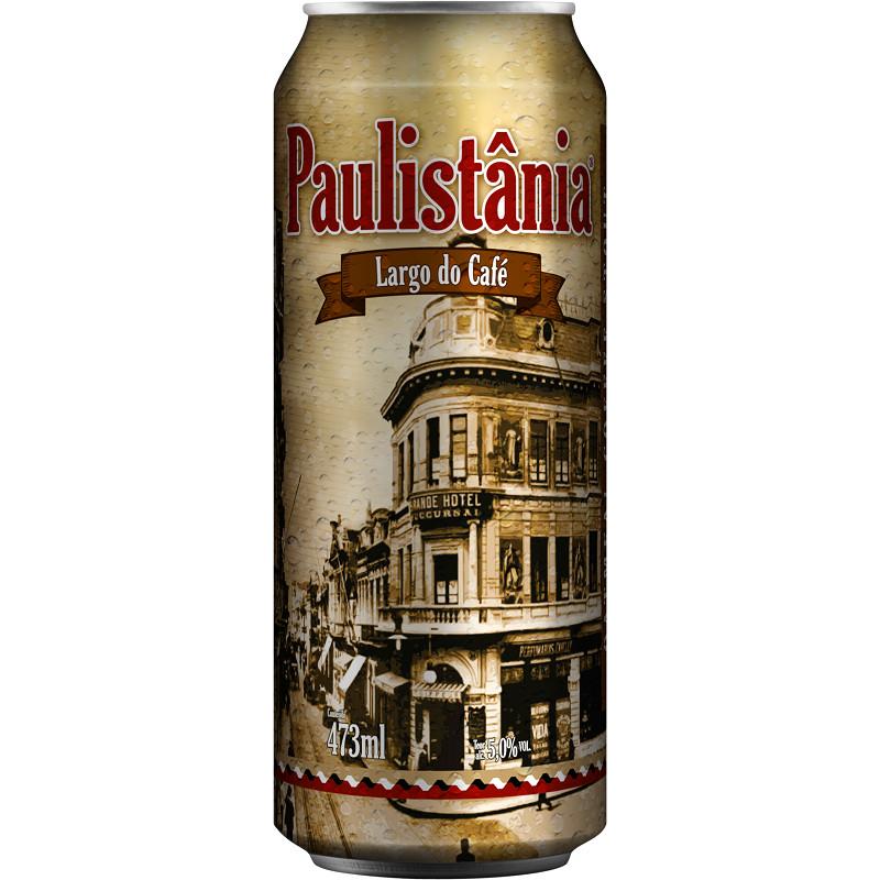 Paulistânia Largo do Café Lata 473ml - Oatmeal Coffee Stout