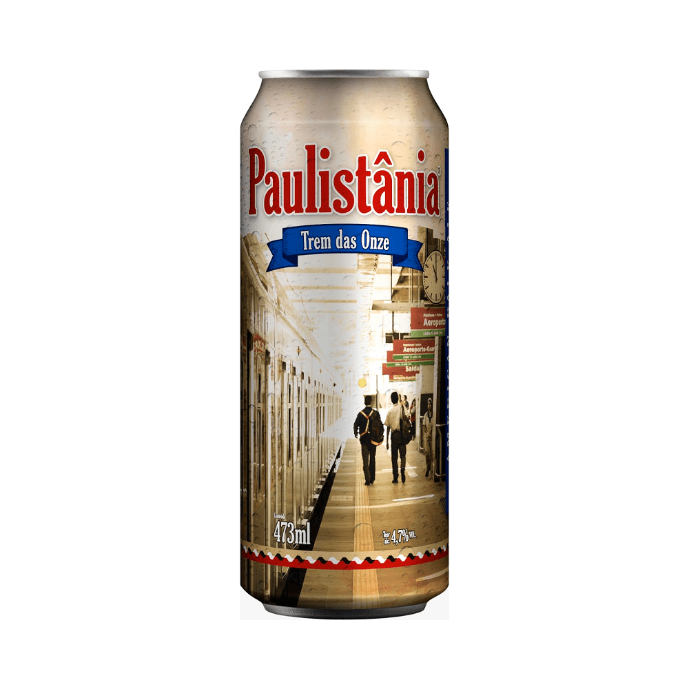 Paulistânia Trem das Onze Lata 473ml - American Pale Ale