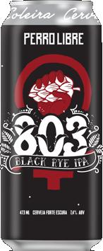 Perro Libre 803 Lata 473ml Black Rye IPA