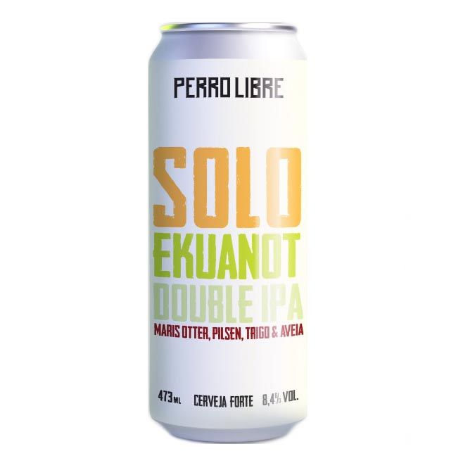Perro Libre Solo Ekuanot 473ml Double IPA