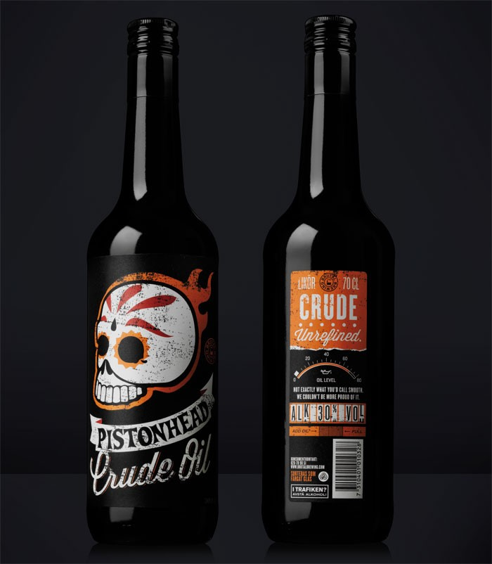 Pistonhead Crude Oil 700ml Malt Liquor