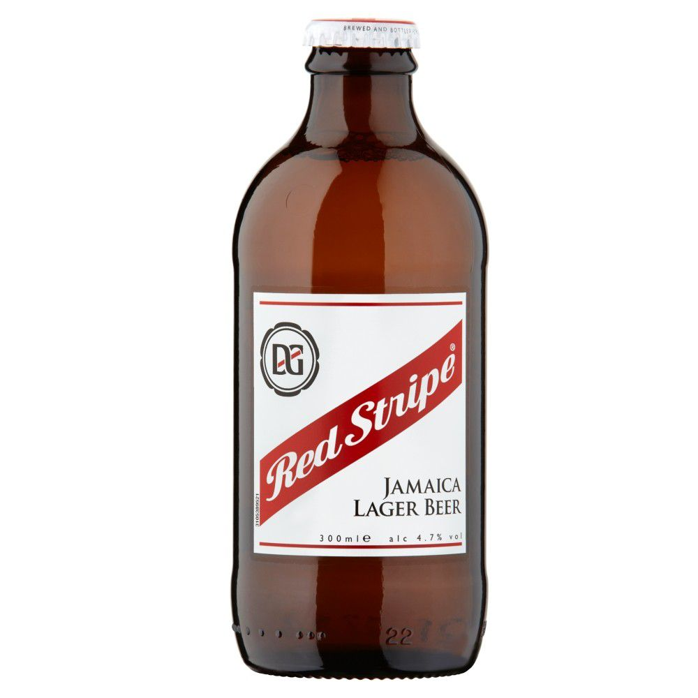 Red Stripe 330ml Jamaican Lager Beer