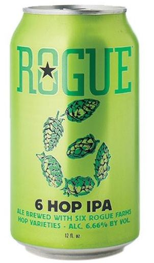 Rogue 6 Hop IPA Lata 355ml