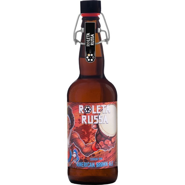 Roleta Russa American Brown Ale 500ml