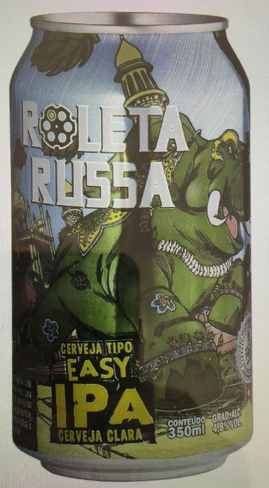 Roleta Russa Easy IPA Lata 350ml