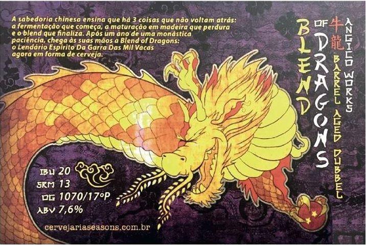 Seasons Blend of Dragons 310ml Dubbel BA
