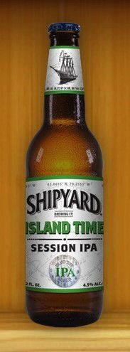 Shipyard Island Time Session IPA 355ml