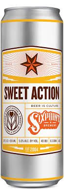Sixpoint Brewery  Sweet Action  Lata 355ml  Blonde  Ale
