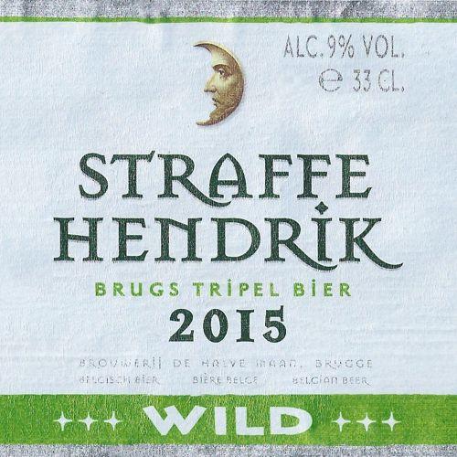 Straffe Hendrik Tripel Wild 2015 330ml