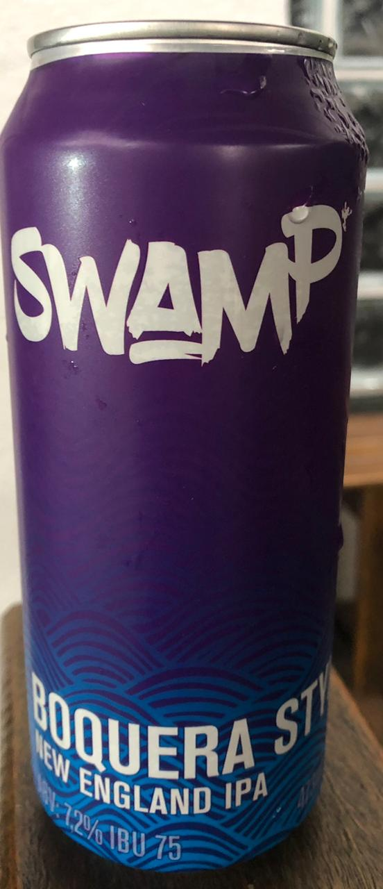 Swamp Boquera Style NEW ENGLAND IPA Lata 473ml
