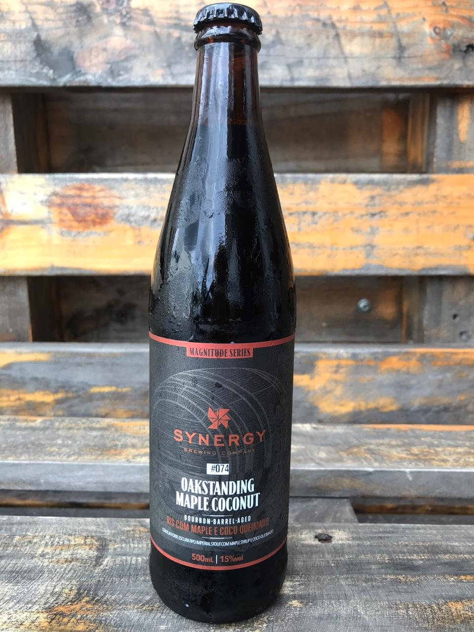 Synergy Oakstading Maple Coconut Russian Imperial Stout Bourbon B.A. 500ml