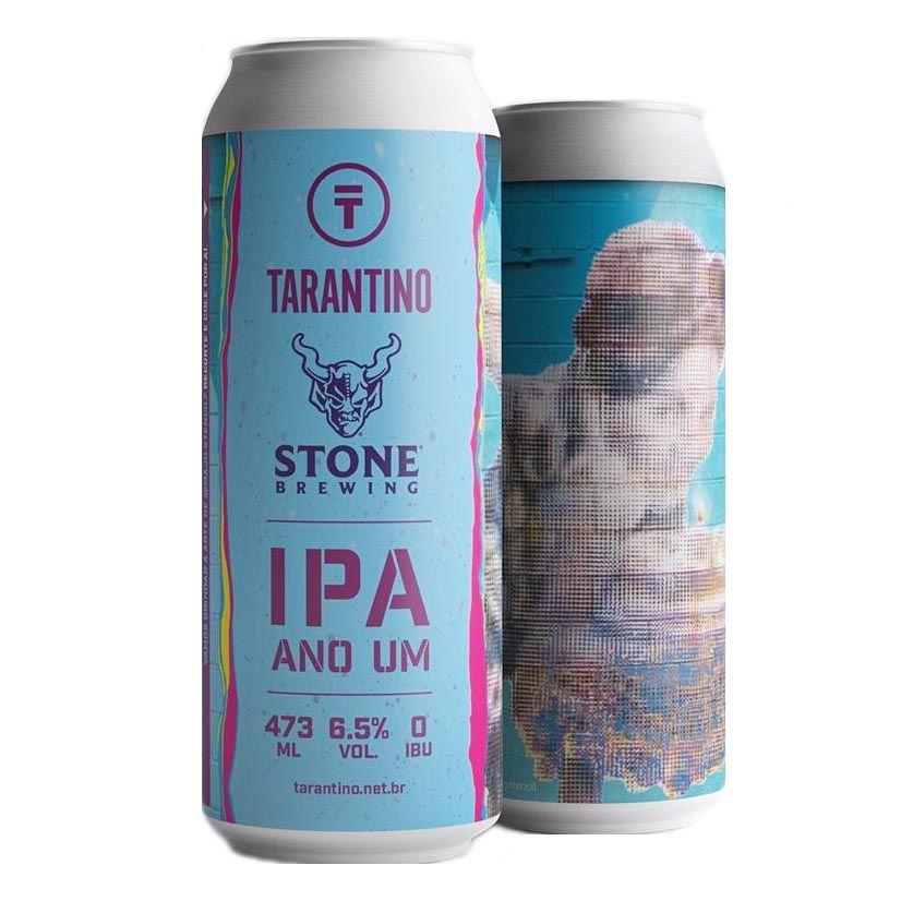 Tarantino / Stone  IPA Ano um  Lata 473ml