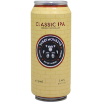Three Monkeys Classic IPA Lata 473ml