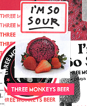 Three Monkeys I'm So Sour Lata 473ml