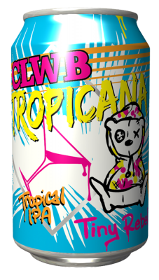 Tiny Rebel CLWB Tropicana Lata 330ml IPA