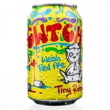 Tiny Rebel CWTCH Lata 330ml REd Ale Validade 13/09/2018
