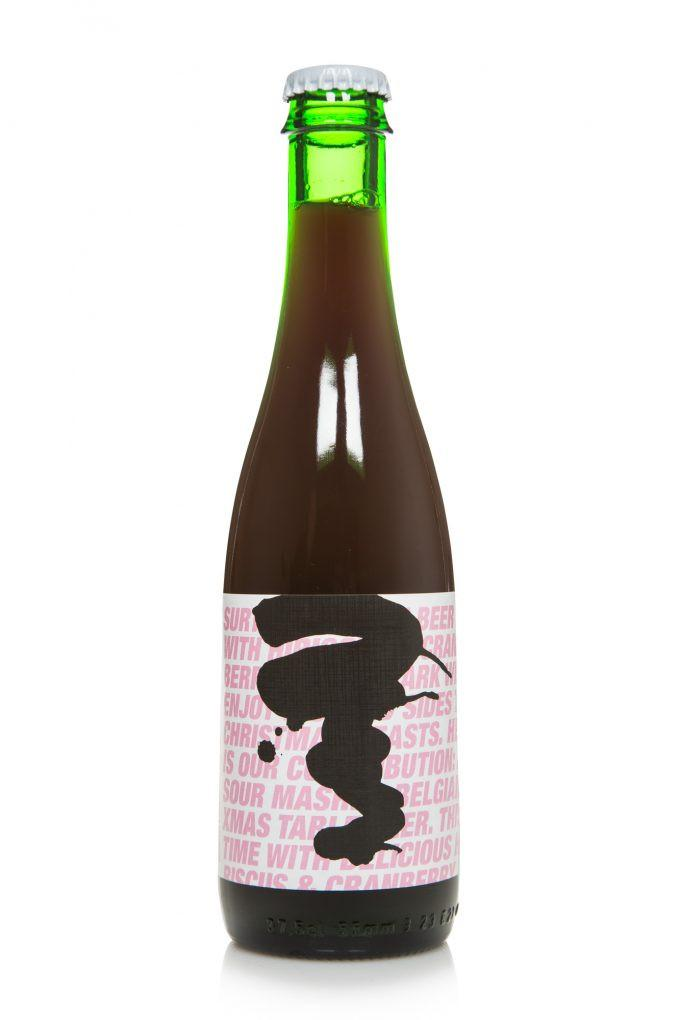 To Øl Sur Til Hibiscus & Cranberry 375ml Sour Ale