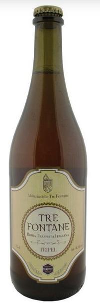 Tre Fontane Tripel 750ml (VALIDADE 31/05/2021)