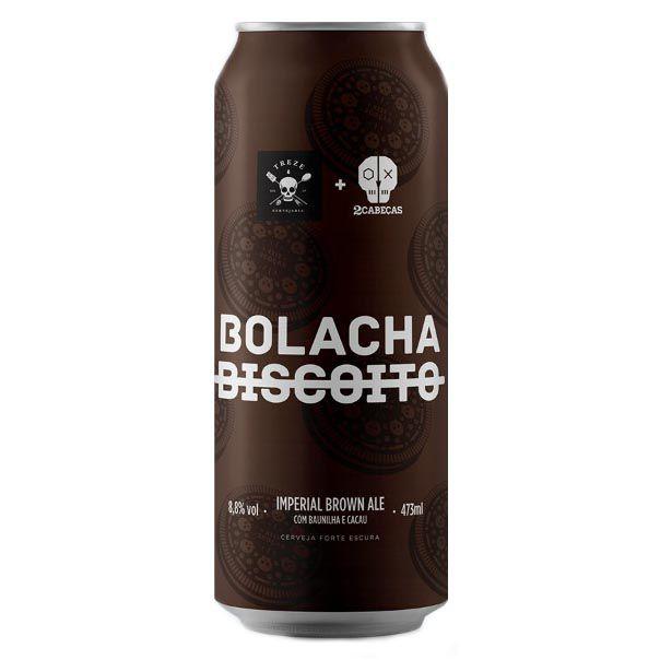 Treze / 2 Cabeças Bolacha Lata 473ml Imperial Brown Ale